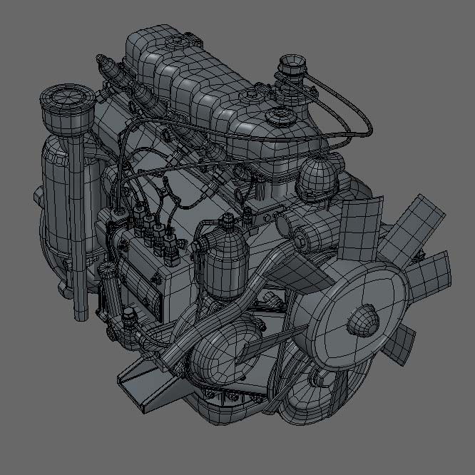 Character Design Engine : D wireframe hard surface vehicle on pinterest